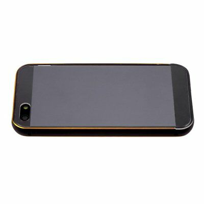 Ultra Thin Aluminum Metal Bumper Clear Back Case Cover Skin for iPhone 5#luKF