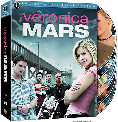 VERONICA MARS Complete First Season DVD 6-Disc BOX SET Sealed NEW 2005 1st 1 One