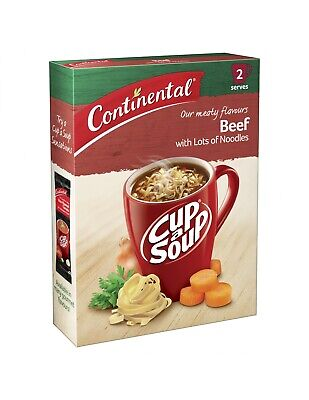 Continental Cup A Soup Lots Noodle Beef