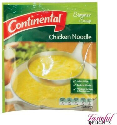Continental Packet Soup Chicken Noodle