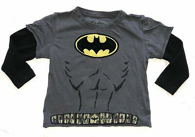 DXtreme Batman cape thermal sleeve tee 2T