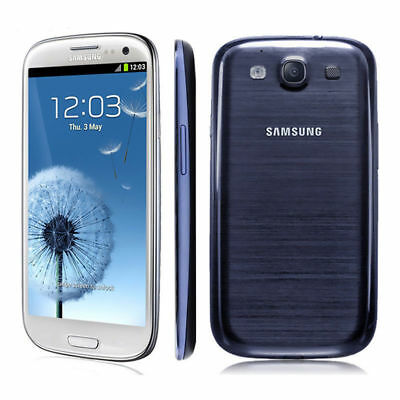 New Samsung Galaxy S3 GT-I9300 - 16GB - Unlocked Black,Blue White Smart Phone