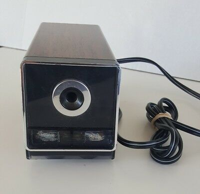 Vintage Panasonic KP-120 Electric Pencil Sharpener Auto-Stop Model Made In Japan