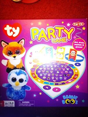 Ty Beanie Boo Friends Game 8 00 Picclick Uk