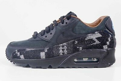 NIKE AIR MAX 90 PND QS Pendelton Black Stratus Brown 825512 004 Size 6 New