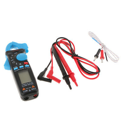 Digital Clamp Meter Multimeter Voltmeter AC DC Volt Voltage Amp Ohm Tester