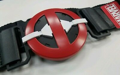 BuckleDown Marvel Deadpool Utility Belt with pockets Cosplay Luggage strap