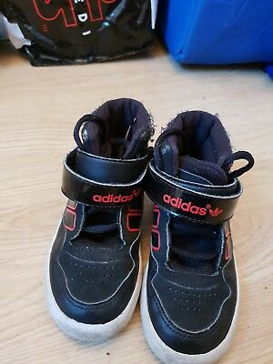 boys adidas trainers size 8