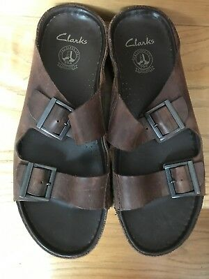 2c086847eb1 BIG REDUCTION!!!    MENS Clarks Leather Sandals Dark Brown UK.12 .G ...