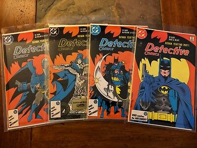 Detective Comics 575, 576, 577, 578, All NM, Free Priority Shipping!