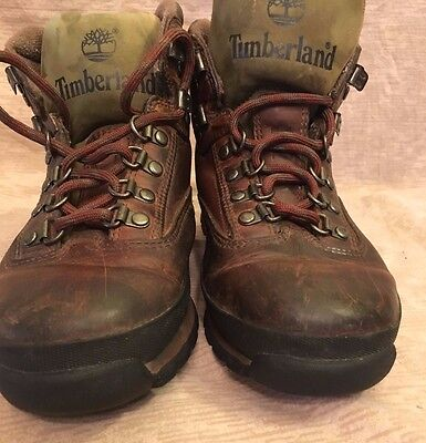 eb23c434c5eb9 TIMBERLAND Men Euro Hike Boots Leather Heritage Mid Hiking Boot Size 7 M