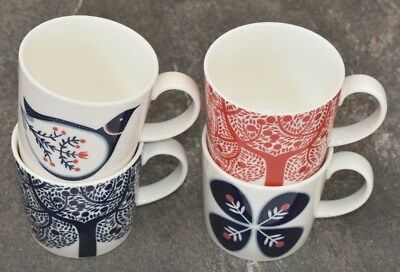 Royal Doulton ~ Set Of Four Fable 400ml Mugs ~ Brand New 1st Quality
