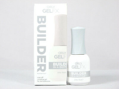 Orly Gel FX Builder In A Bottle .6oz 18ml Soak-Off Gel Nail Acrylic