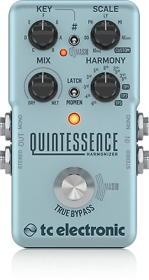 TC ELECTRONIC QUINTESSENCE Harmony Guitar Effect Pedal + Warranty