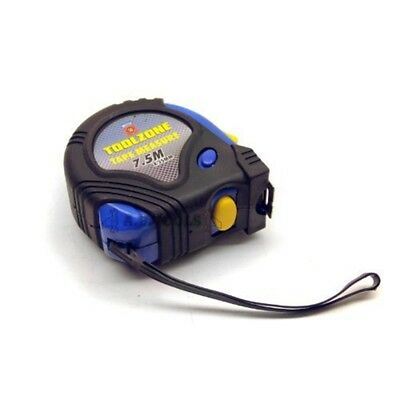 7.5m 25ft Tape Measure / Measuring Tape - 75m Rubber Coated