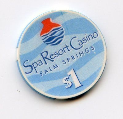 1.00 Chip from the Spa Casino in Palm Springs California Chipco