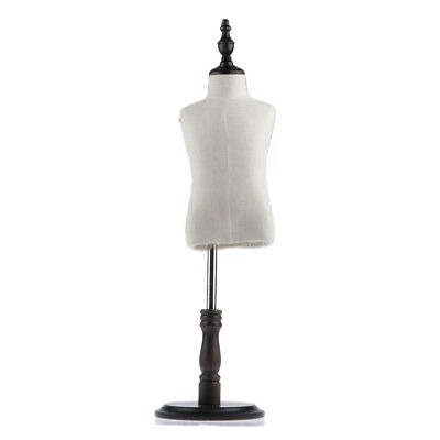 Kids Mannequin Torso Dress Form Clothing Display Model W/ Tripod Stand S