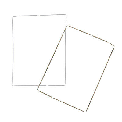 2Pcs Touch Digitizer Middle Screen Frame Bezel Support Part For iPad 3/4