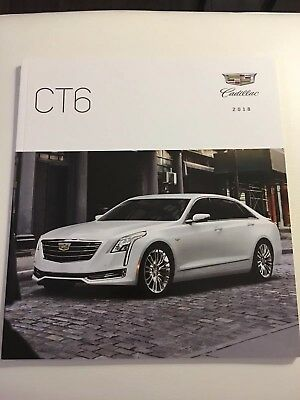 2018 CADILLAC CT6 44-page Original Sales Brochure
