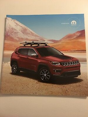 2017 JEEP COMPASS ACCESSORIES 14-page Original Sales Brochure