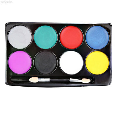 45CE Halloween Beauty Face Painting Pigment Creative 8 Colors Random Color Diy