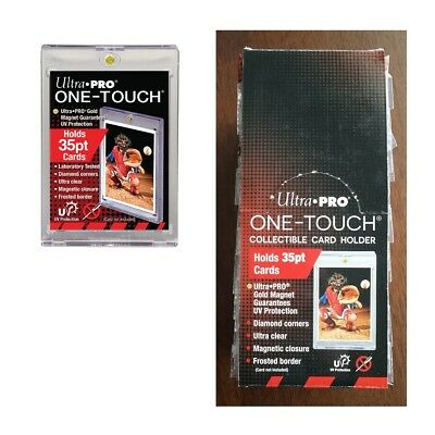 Ultra PRO 25x One-Touch Magnetic Card Holders 35pt Protectors Display Box of 25