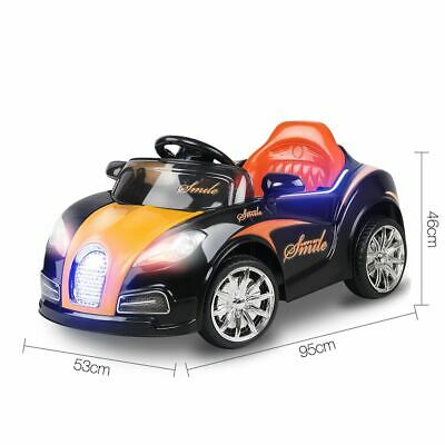 Ride On Toy Rechargeable battery Operated Kids Children Car Remote Control Black