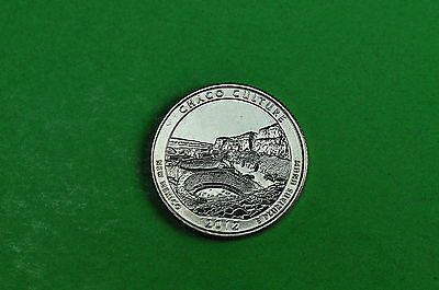 2012-P BU Mint State (CHACO CULTURE) US National Park Quarter