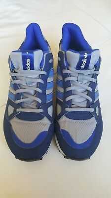 site réputé 0b15c f2631 MENS ADIDAS ZX750, grey, blue & white, size 9 trainers used