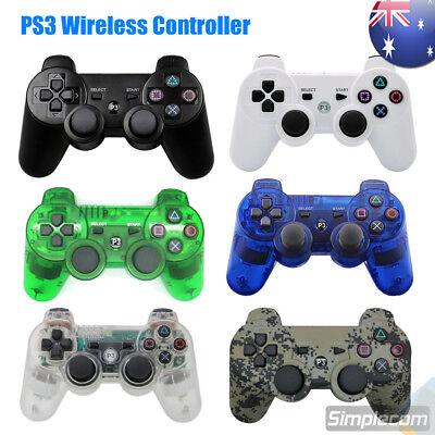 Bluetooth Wireless Gamepad Game Controller Dual Vibration For PS3 PlayStation 3