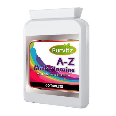 Complete A-Z Multivitamins For Adults Male & Female Multi Vitamins Tablets Pills