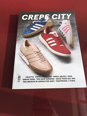 CREPE CITY - Issue 05- Brand New - sold out - Sneakers And Fashion Magazine