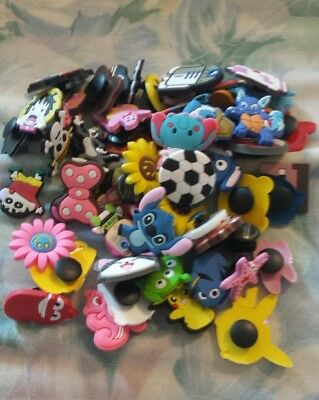 Lot Of Over 50 Random Crocs Charms Great for kids treasure chest or party favors