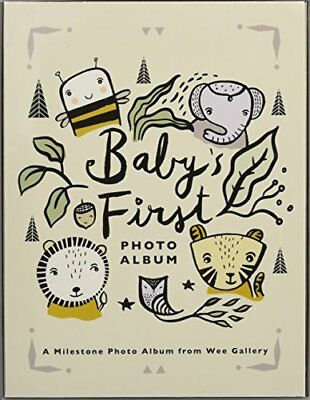 Babys First Photo Album A Milestone Photo Album from Wee Gallery