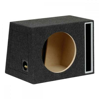 "12"" 30cm MDF Black Port Car Audio Speaker Sub Subwoofer Bass Box Enclosure 50L"