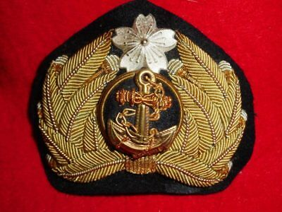 Imperial Japanese Army /Navy Emblem For Hat WW2 Era Vintage Good Condition Japan