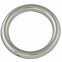 Tandy S/S Solid O-Rings - Stainless Steel - Nickel-Free Plated