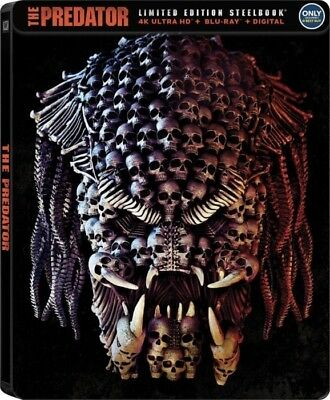 The Predator (2018)(SteelBook)(4K Ultra HD)(UHD)(Atmos)