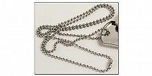 """Tandy Dog Tag Chain 27"""" Stainless Steel"""