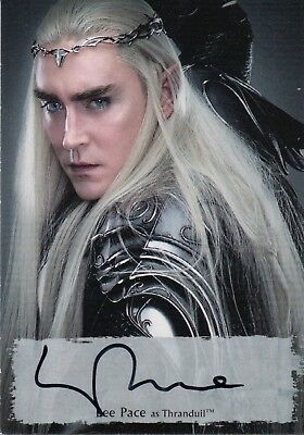 The Hobbit The Battle Of The Five Armies, Lee Pace 'Thranduil' Autograph
