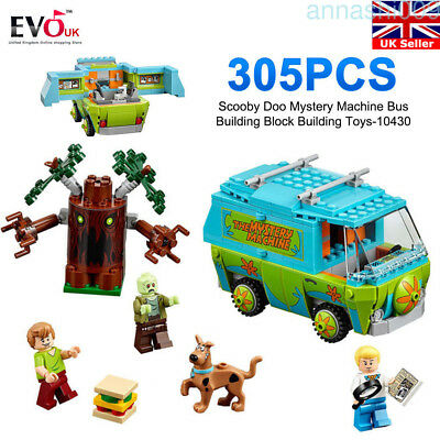 305PCS Scooby Doo Mystery Machine Bus Building Block Building Toy Xmas Gift 2018