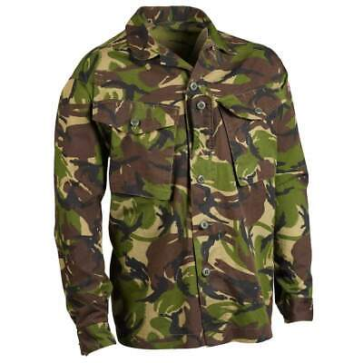 British Army Surplus S95 Combat Shirt Woodland DPM Camouflage Jacket - Grade 1