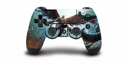 1Pc God Of War 4 PS4 Skin Sticker Decal For Sony PlayStation 4 Controller