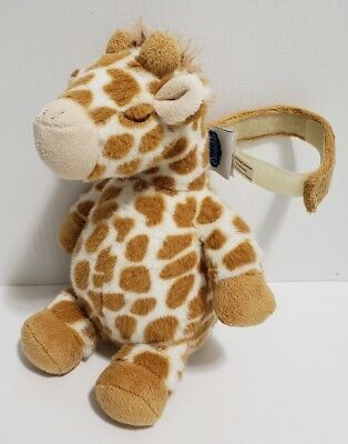 """Cloud B Gentle Giraffe on the Go Sound Box Soother Nature Sounds Travel Toy 9.5"""""""