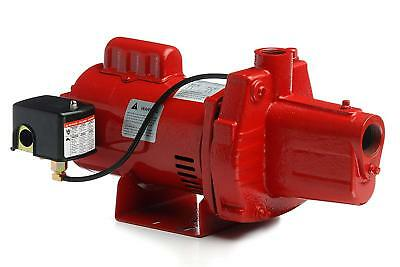RED LION RJS-75-PREM Jet Pump 3/4 HP Cast Iron 115/230V