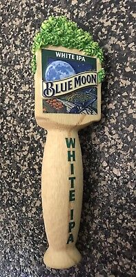New In Box Blue Moon White IPA Tap Handle