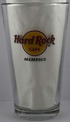 ❤️⭐NEW Hard Rock Cafe 😍🔥👍 MEMPHIS PINT BEER GLASS 💎💋Drink Cocktail Souvenir