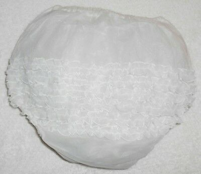 Vintage Wiseway Frilly Plastic Baby Pants (Rare)