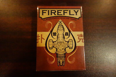 Firefly Playing Cards Serenity Joss Weadon Official Poker Deck Sealed New Mint