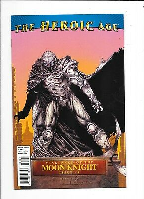 Vengeance Of The Moon Knight #8 The Heroic Age Variant Marvel Conics (2010)